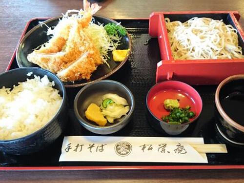 松栄庵)料理1